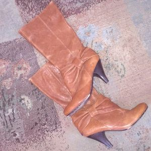 Poetic Licence size 9.5 leather Louella boots